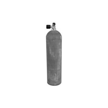 Alu Flaske 7L med ventil