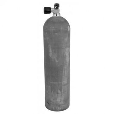 Alu Flaske 80cf med ventil