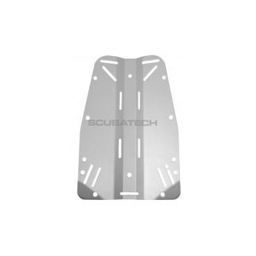 Tecline 3mm Rustfri bagplade
