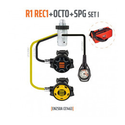 Tecline Regulator sæt R1...